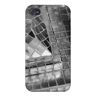 Silver Mosaic Speck iPhone 4 Case