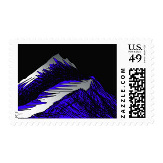 silver mountain postage stamps