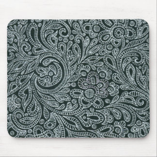 silver mouse pad