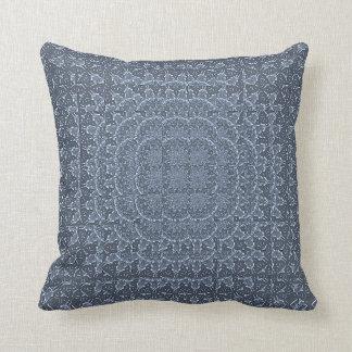 Silver Multi-Refraction Throw Pillow