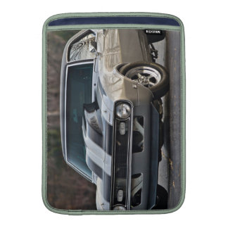 Silver Muscle car MacBook Air Sleeves