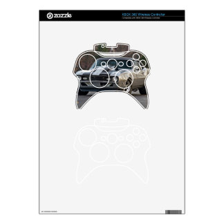 Silver Muscle car Xbox 360 Controller Skins