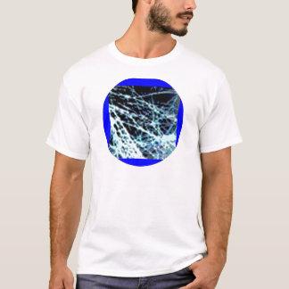 Silver n Blue Streaks T-Shirt
