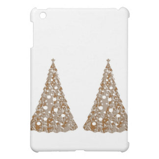 Silver n Gold Engraved LightShow Trees Case For The iPad Mini