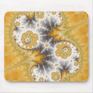 Silver Nebula Mousepad