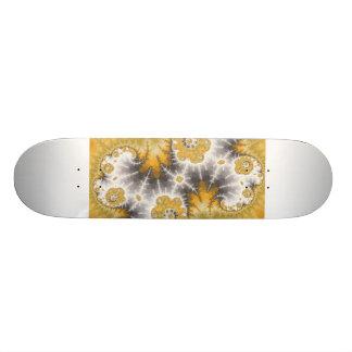 Silver Nebula Skateboard