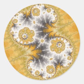 Silver Nebula Stickers