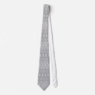 Silver Neck Tie