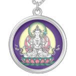 SILVER NECKLACE Avalokiteshvara / Chenrezig