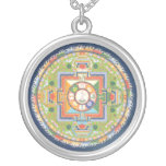 SILVER NECKLACE & PENDANT Mandala of Compassion