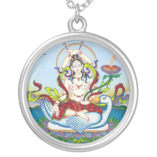 SILVER NECKLACE Tara protecting against poisons