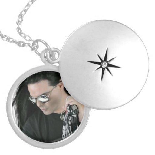 "Silver Necklace ""Te Amo Sergio Blass"""