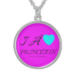 i  [Love heart]   princeton &  roc royal i  [Love heart]   princeton  Silver Necklaces