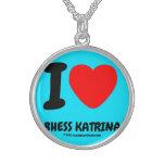 i [Love heart]  bhess katrina i [Love heart]  bhess katrina Silver Necklaces