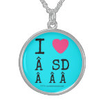 i [Love heart]   sd    i [Love heart]   sd    Silver Necklaces