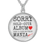 sorry sold-out album [Love heart]  this is chic boutique mania [Electric guitar]   sorry sold-out album [Love heart]  this is chic boutique mania [Electric guitar]   Silver Necklaces