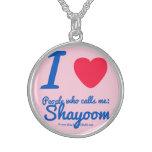 i [Love heart]  people who calls me:   shayoom i [Love heart]  people who calls me:   shayoom Silver Necklaces
