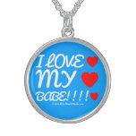 i love [Love heart]  my [Love heart]  babe!!!! [Love heart]  i love [Love heart]  my [Love heart]  babe!!!! [Love heart]  Silver Necklaces