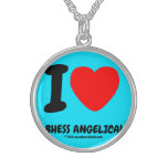 i [Love heart]  bhess angelica! i [Love heart]  bhess angelica! Silver Necklaces