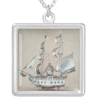 Silver Nef Silver Plated Necklace