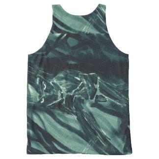 Silver Night Spirit All-Over-Print Tank Top