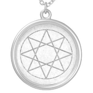 Silver Octogram Pendant