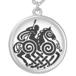 Silver Odin 3 Silver Plated Necklace