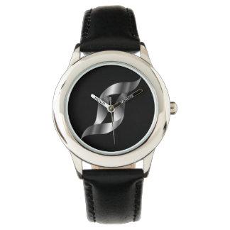 Silver organic watch