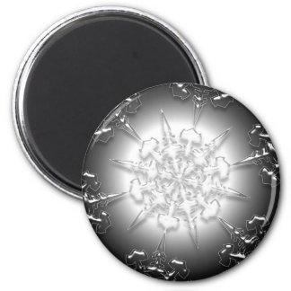 Silver Ornament Magnet