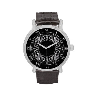 Silver Ornate Medallion 1 - Watch