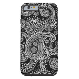 Silver Paisley iPhone 6 case iPhone 6 Case