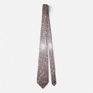 Silver Party Neck Tie