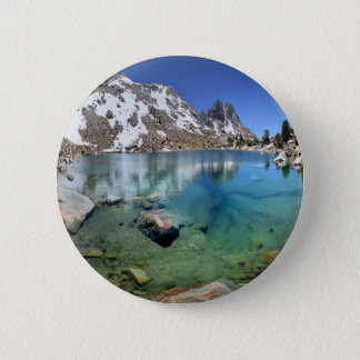 Silver Pass Tarn - Johm Muir Trail Pinback Button