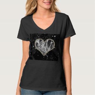 Silver Pearl Heart T-Shirt