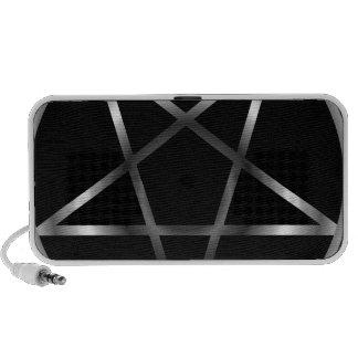 Silver pentacle speaker system