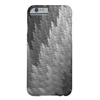 Silver Pewter Grey Tan Tartan Feather Pattern Case