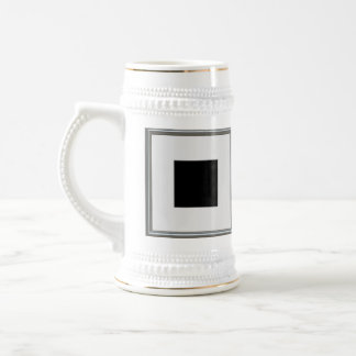 silver picture frame layout beer stein
