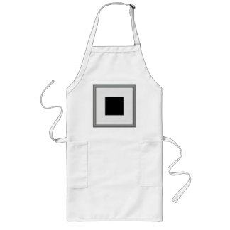 silver picture frame layout long apron