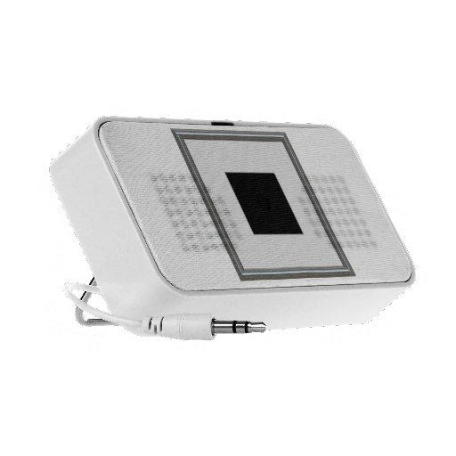 silver picture frame layout portable speakers