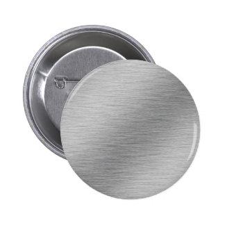 Silver Pinback Button