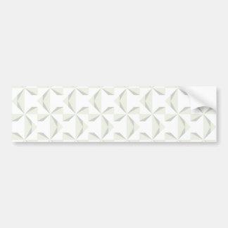 Silver Pinwheels Bumper Sticker