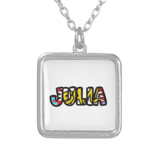 Silver-plated jewellery shop Julia Silver Plated Necklace