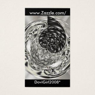 Silver Plated, www.Zazzle.com/, DoviGirl2008* Business Card