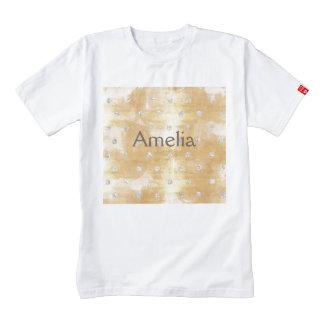 silver,polka dot,gold,trendy,girly,cute,chic,xmas, zazzle HEART T-Shirt