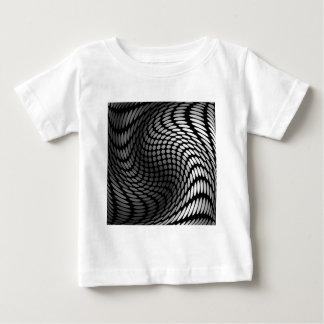 Silver polka dot wrap artwork shirt