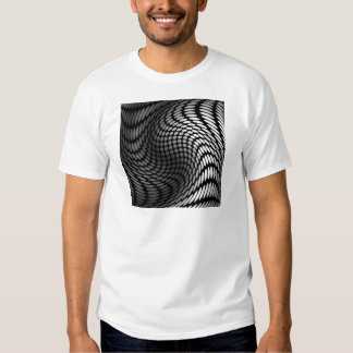 Silver polka dot wrap artwork t shirts
