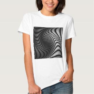 Silver polka dot wrap artwork tshirts