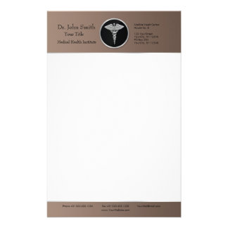 Silver Professional Medical Caduceus - Stationery
