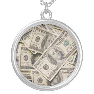 Silver Prosperity Necklace