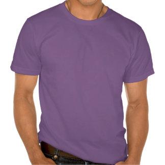 Silver Purple Celtic Butterfly Curling Knots T-shirts